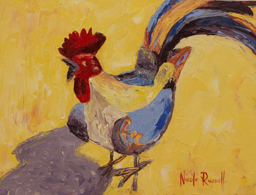 Nicole Russell/ Featured Artist Exhibition