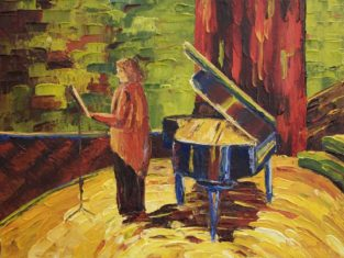 Nelson Centre For Musical Arts - Oil Painting