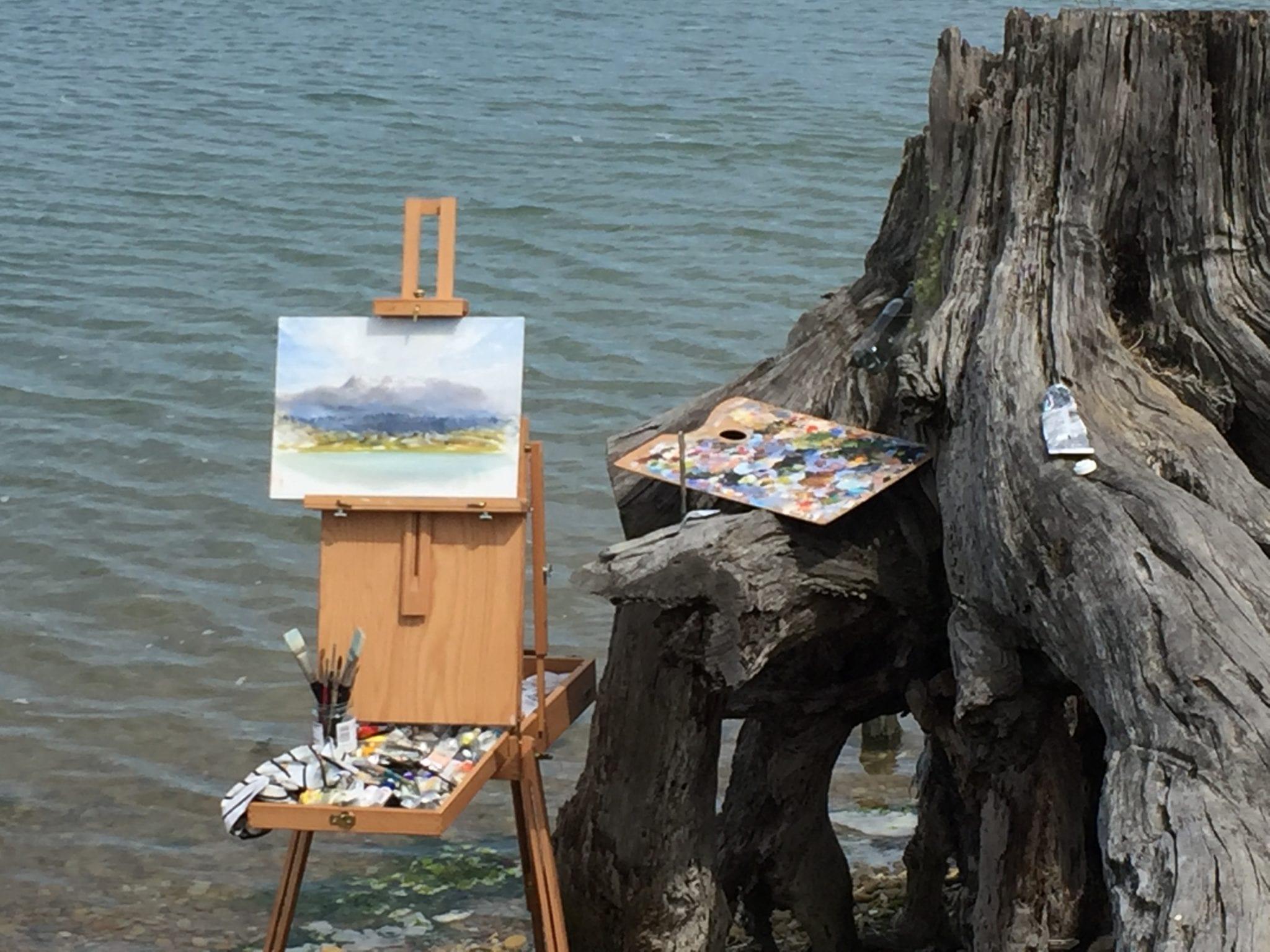 Plein Air, Photos Of Rough Island