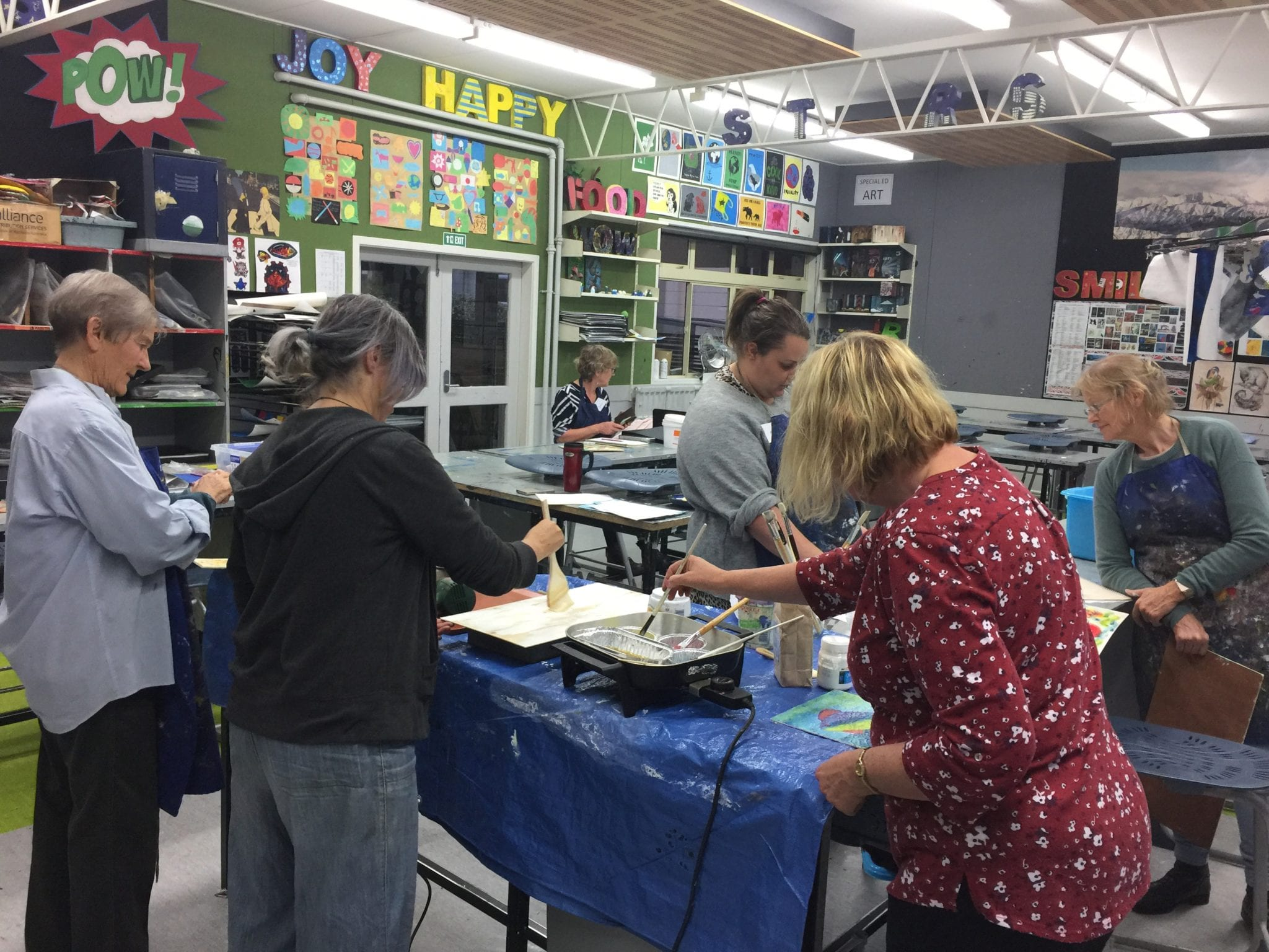 Photos Of Painting Classes