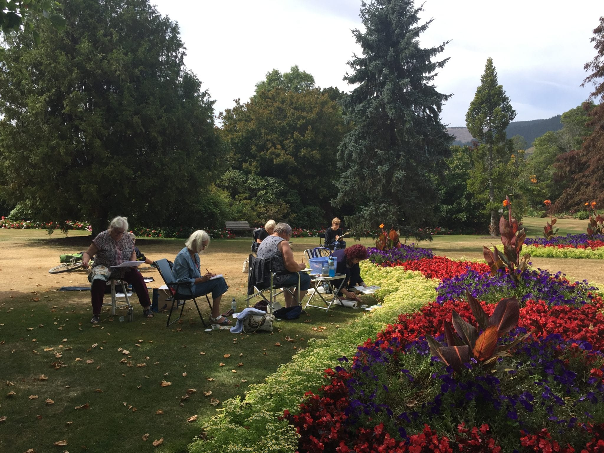 Watercolour Journaling At Washbourn Gardens