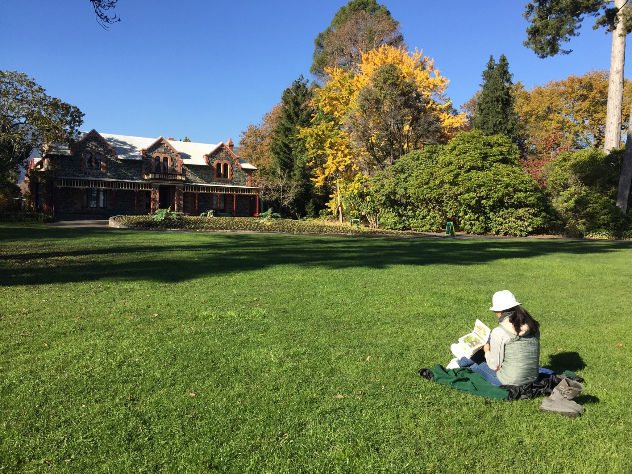 Photos Of Plein Air Painting At Isel Park
